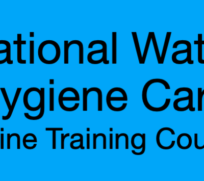 Logo for National Water Hygiene Card Online Training Course
